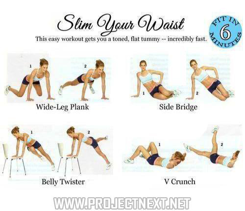 exercise to tone your waistline